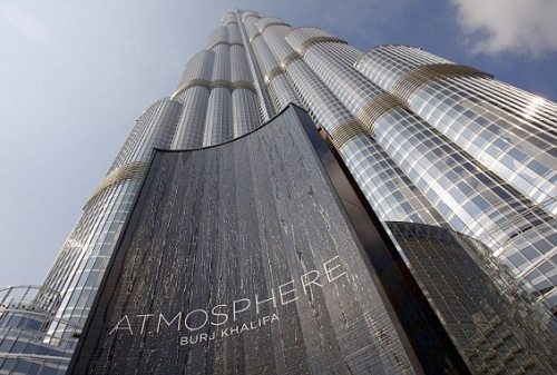 At mosphere the luxury restaurant daily from dubai for Burj khalifa room rates