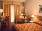 Crowne Plaza Hotel room