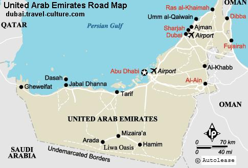 UAE road map